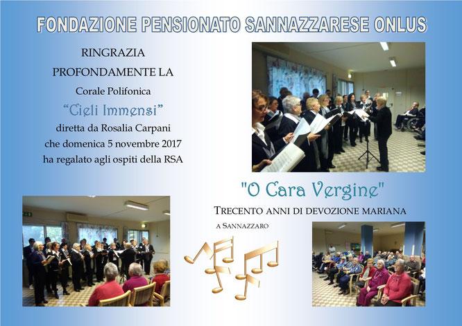 """Concerto della Corale Polifonica """"Cieli Immensi"""""""