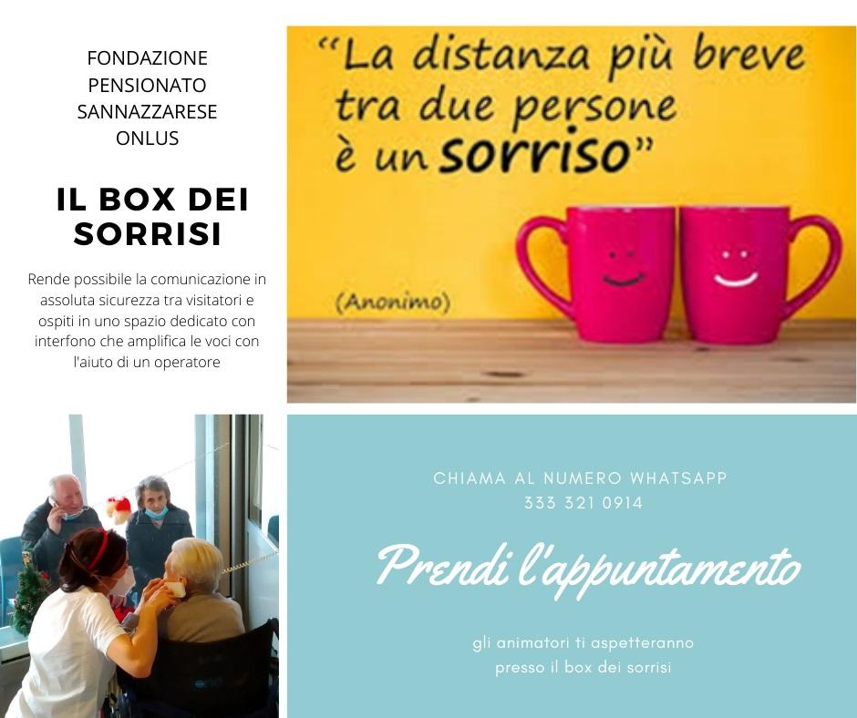 Il box dei sorrisi