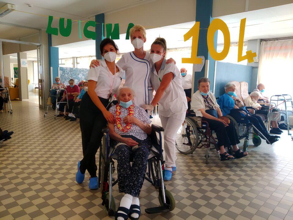 104 anni Luigina